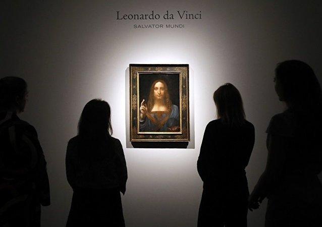 列昂那多•达•芬奇的画作《救世主》