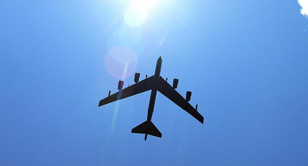 美国战略轰炸机2021年第二次中东地区巡航