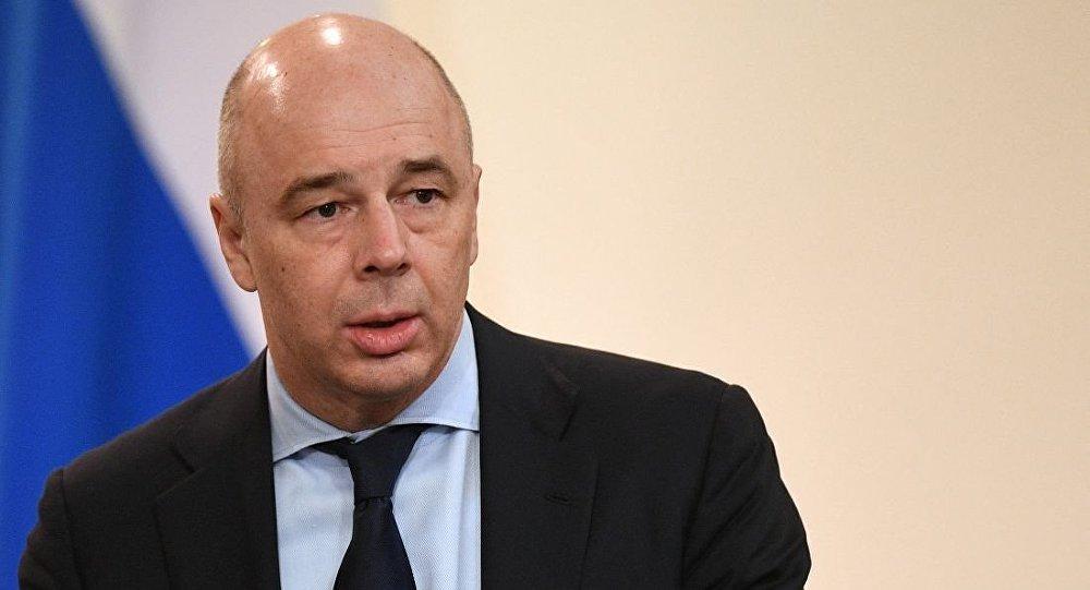 俄财长西卢安诺夫安东∙西卢阿诺夫