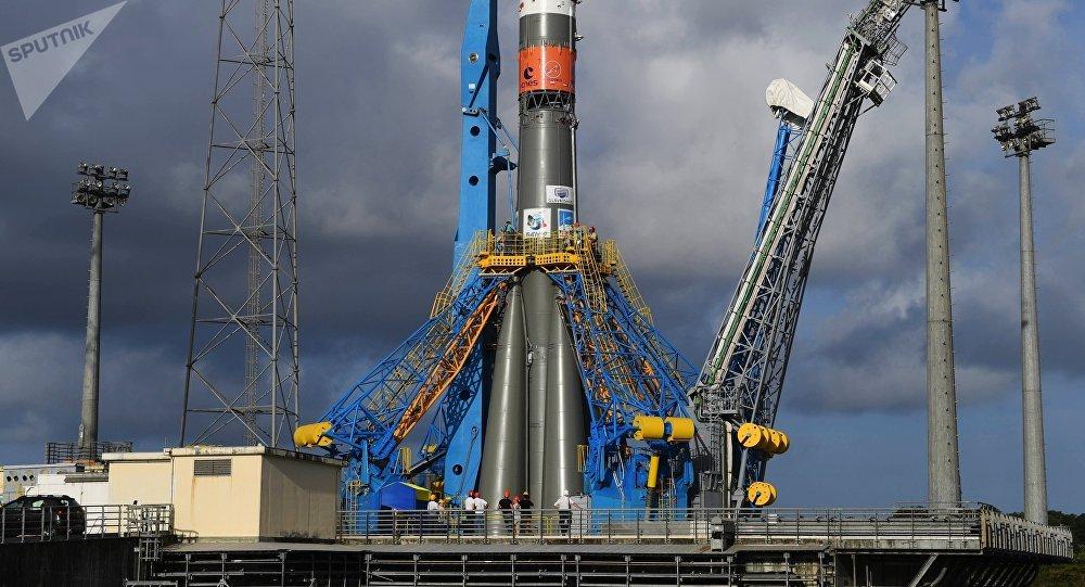 """德宇航中心证实10月份恢复因疫情中断的""""联盟""""号火箭从库鲁发射场发射"""