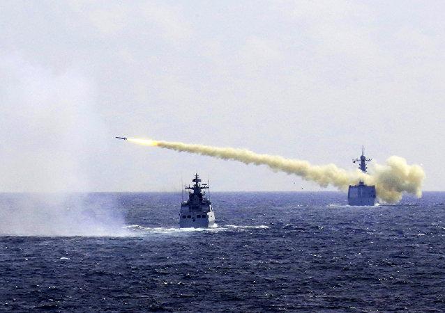 中国将在台湾附近举行军事演习