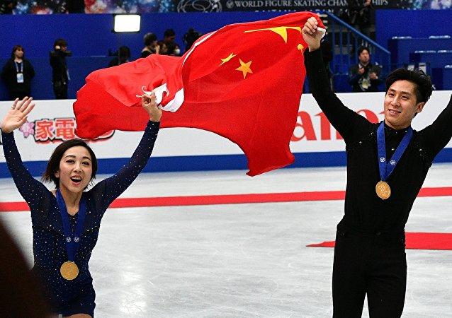 中国离世界花滑巅峰越来越近