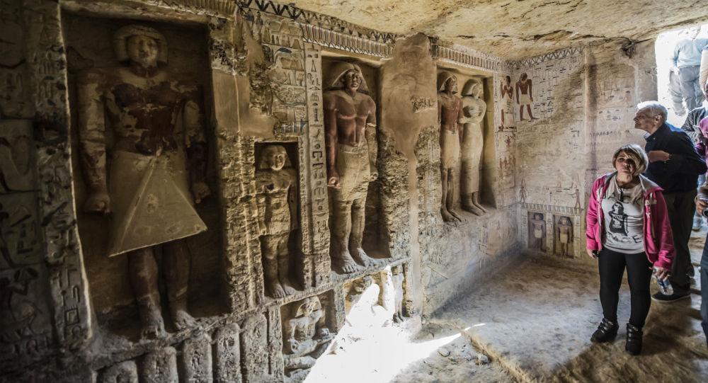 古埃及的萨卡拉墓地