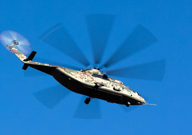 俄中计划年底前签署设立直升机维修服务中心的协议