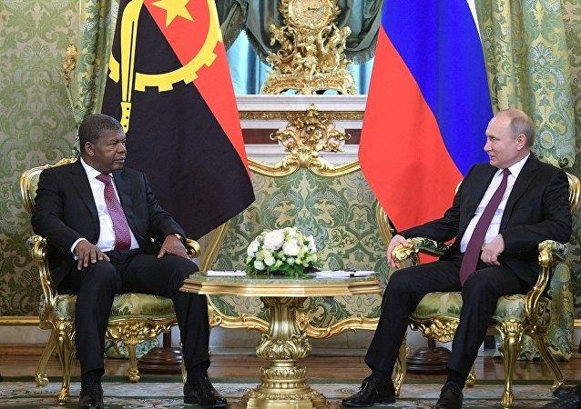 普京邀请安哥拉总统参加俄罗斯-非洲峰会