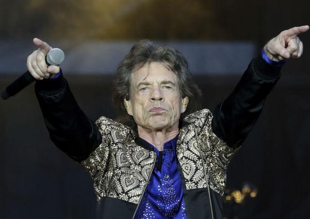 Солист группы The Rolling Stones Мик Джаггер