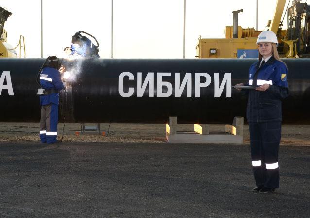 """俄专家:开通""""西伯利亚力量""""输气管道将确保中国供气稳定"""