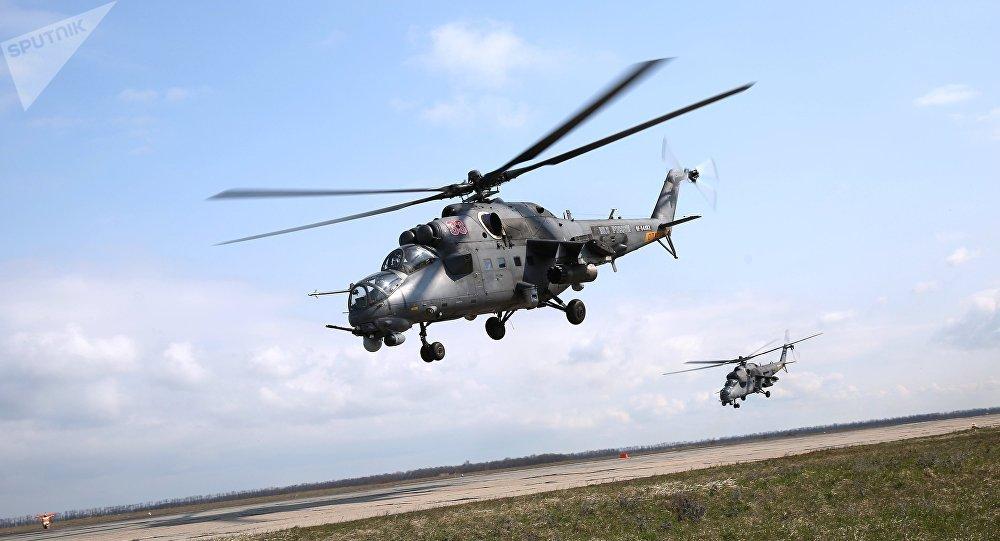 """来自诞生俄罗斯""""飞水牛""""的直升机厂的报道"""
