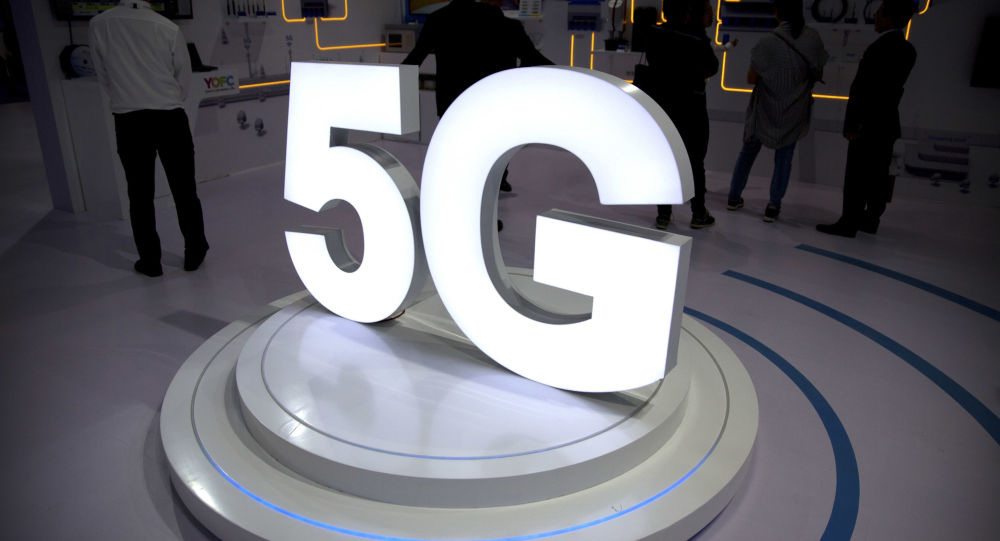 Симолика 5G на выставке телекоммуникационных и компьютерных технологий PT Expo в Пекине