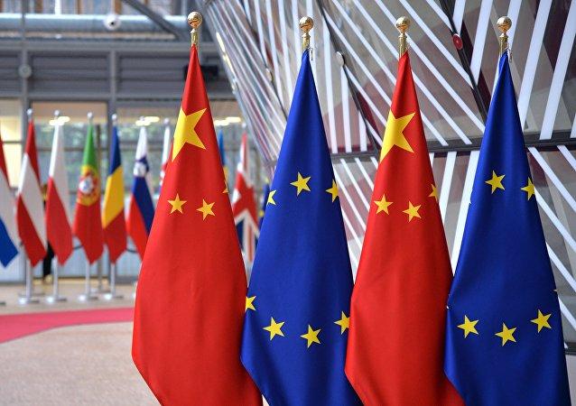 欧盟外长与中国外长就欧中峰会筹备工作进行讨论