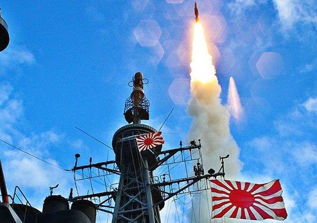 SM-3于JS Kirishima (DDG-174)号上发射