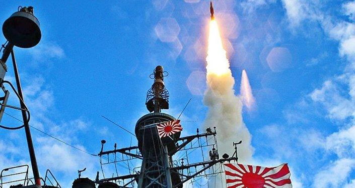 SM-3于JS Kirishima (DDG-174)號上發射