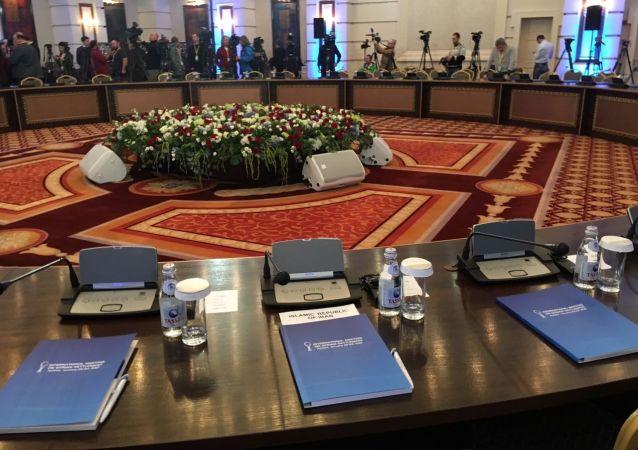 叙问题阿斯塔纳和谈在哈萨克斯坦首都开幕