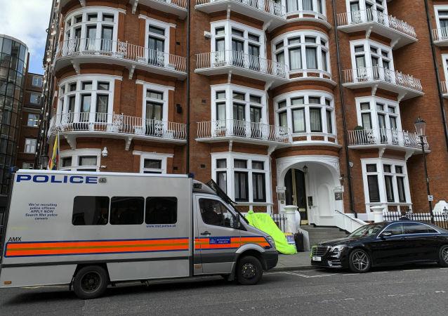 英国警方称已逮捕维基解密创始人阿桑奇