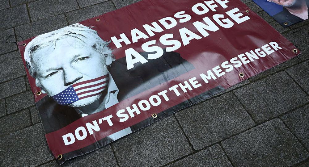 伦敦不会把阿桑奇引渡到有死刑的国家