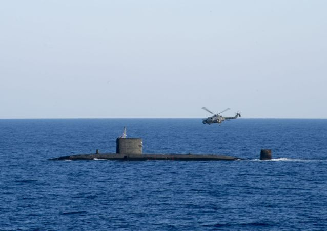 """英国""""天才""""号核潜艇(HMS Talent)"""