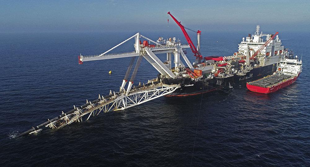 北溪-2号天然气管道项目铺设工作进度达到60%