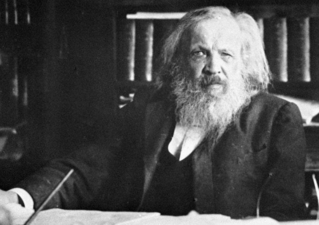 俄罗斯化学家门捷列夫