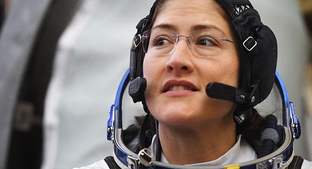 美国宇航员克里斯蒂娜·库克