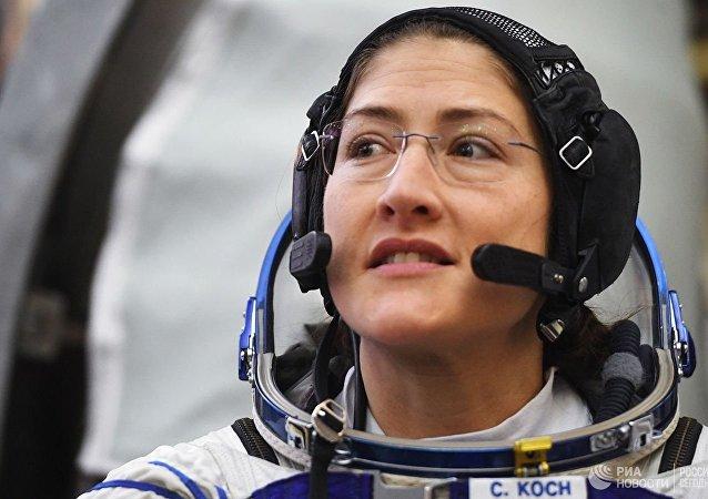 美国女宇航员库克将在国际空间站上待近一年 将创造女性飞行时间的记录