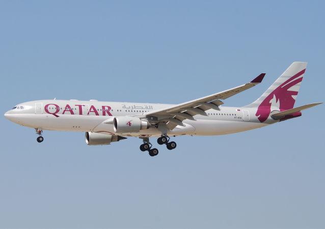 卡塔尔组织从全世界向中国运送抗冠状病毒援助