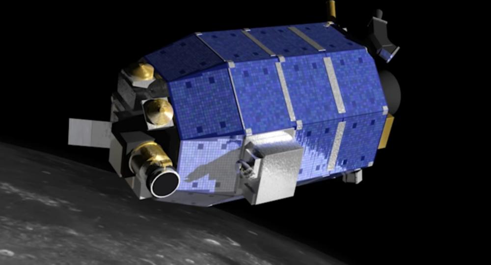 Зонд LADEE, работавший на окололунной орбите в 2013-2014 годах