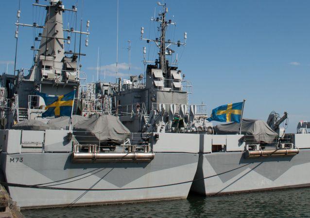 瑞典海军的船只