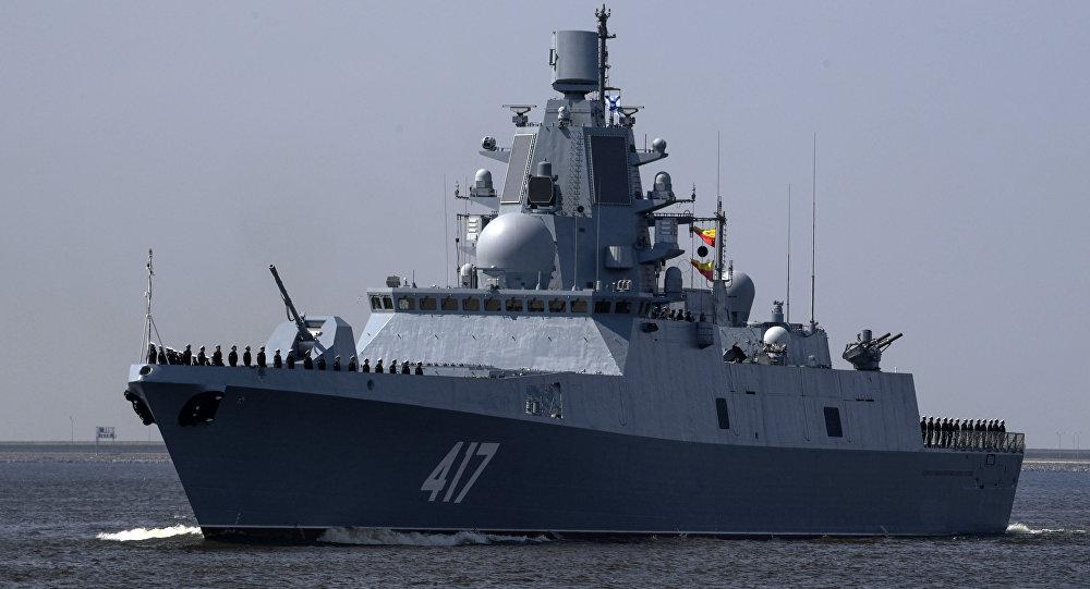 """""""戈尔什科夫海军上将""""号护卫舰"""