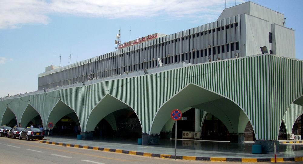 利比亚首都米提加国际机场