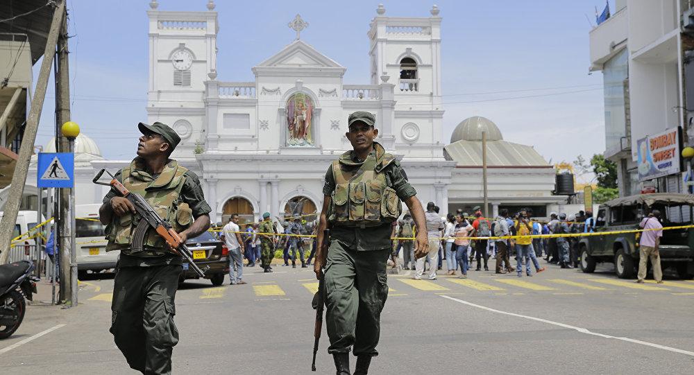 斯里兰卡爆炸