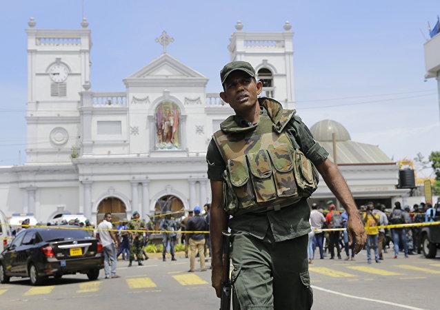 斯里兰卡政府认为系列恐袭是当地极端组织NTJ所为