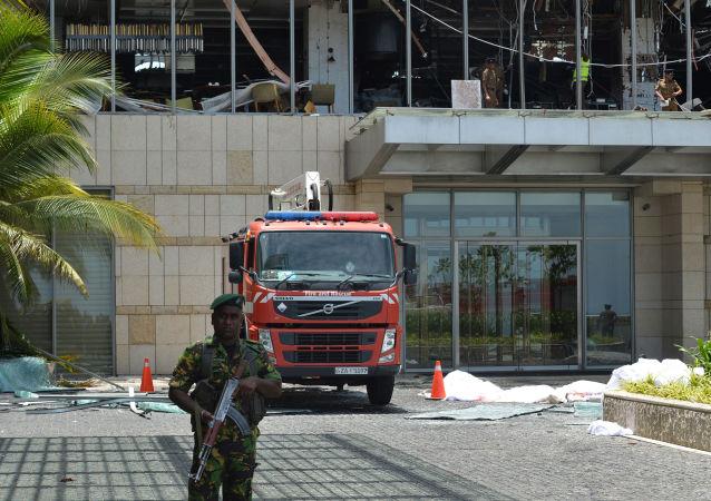 斯里兰卡警方已确定其中一名自杀式炸弹袭击者的身份