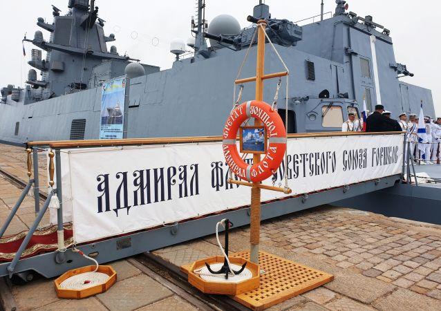 '瓦良格'号近卫导弹巡洋舰