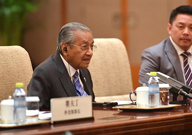 外媒称,马来西亚总理马哈蒂尔辞职