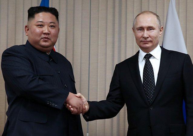 俄朝领导人商定加强两国战略合作