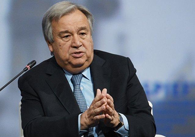 联合国秘书长警告称,如果传染在贫困国家积极传播,可能出现对疫苗产生耐药性的新冠病毒突变
