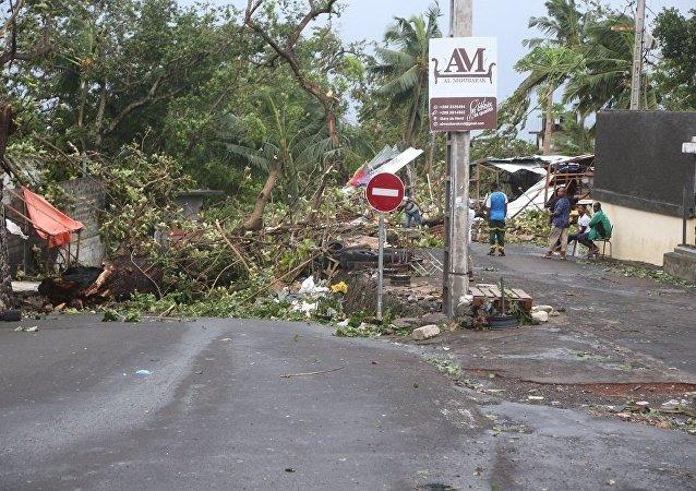 联合国:莫桑比克再遭强气旋袭击 受灾人数预计达70万