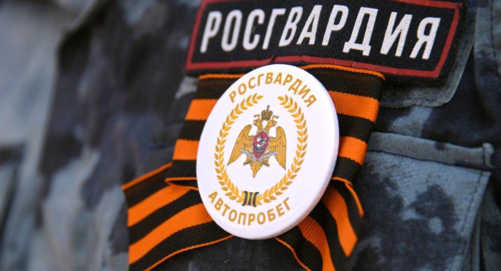 俄选出最美近卫军战士