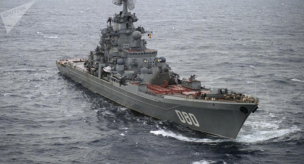 """""""纳希莫夫海军上将""""号核动力巡洋舰"""