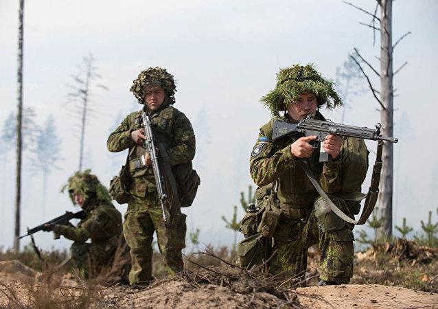 爱沙尼亚军人