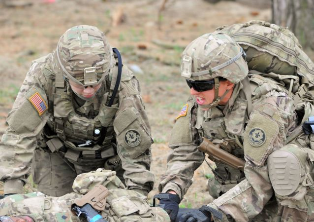 美国军人在波兰