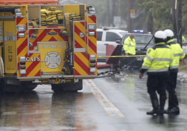 媒体:美军机在阿拉巴马州坠毁 两人死亡