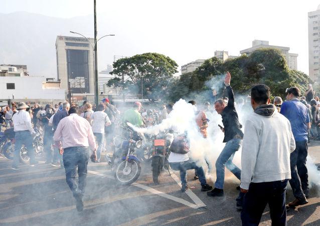 非政府组织:委内瑞拉集会造成的伤者人数或达300人
