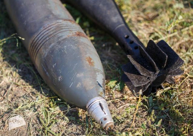 北京警方销毁战争时期遗留废旧炮弹244枚、雷管4709发