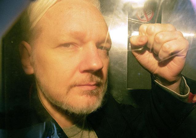 维基解密网站创始人阿桑奇
