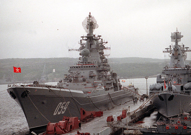 """世界最大型""""海雕""""核动力巡洋舰威力几何?"""
