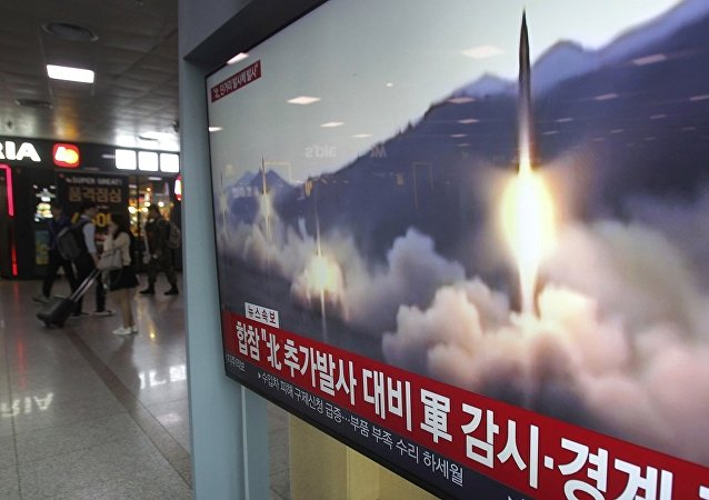 媒体:韩国总统府在朝鲜发射导弹后召集紧急会议