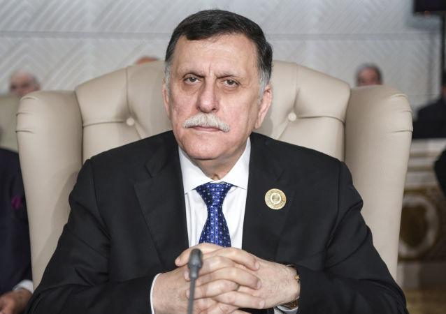 利比亚民族团结政府总理法耶兹•萨拉杰