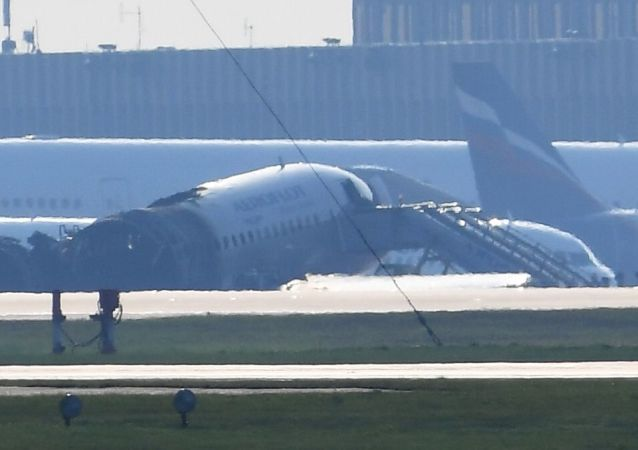 俄起火SSJ-100客机机长讲述事发经过