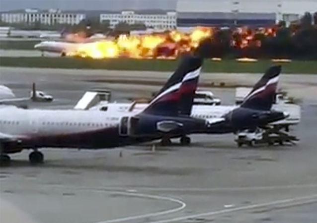 俄罗斯谢列梅捷沃国际机场转入正常运转